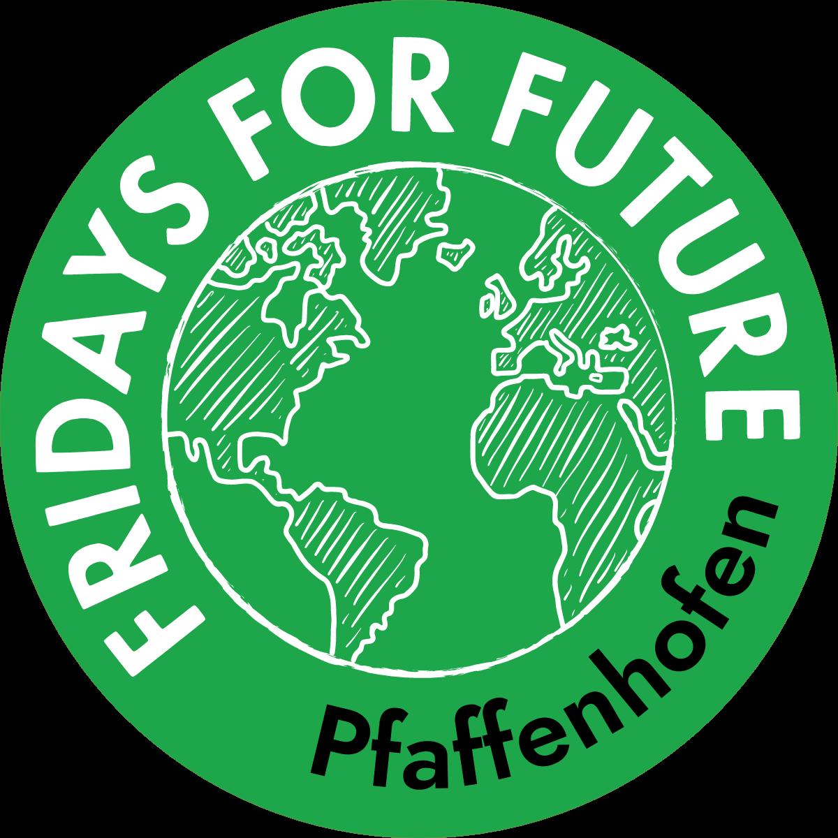 Fridays For Future Pfaffenhofen Logo